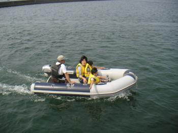アキレスLW試乗艇