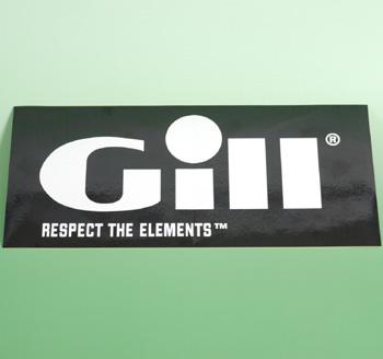 Gill ギル ステッカー